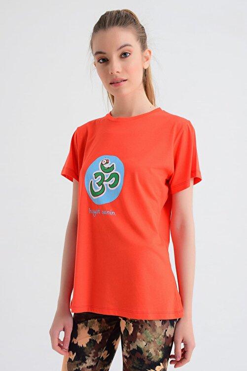 b-fit Kadın T-shirt - Wormie OM - WRMKM 1