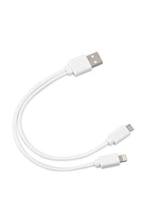 S-LINK SL-IP53 USB iPhone 6/7/8 + Micro 5Pin Çevirici Kablo 1