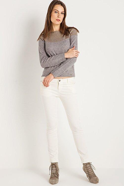 Armani Jeans Kadın Beyaz Pantolon Ss1700002847 1