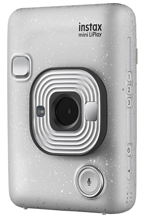 Fujifilm instax mini LiPlay Hybrid Stone White Fotoğraf Makinesi 2