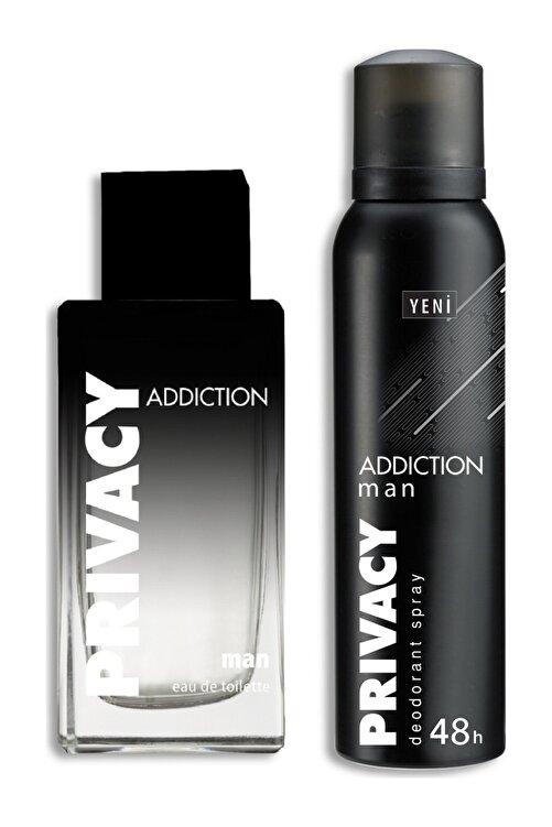 Privacy Addiction Edt 100 ml + Deodorant 150 ml Erkek Parfüm Seti 8690586017794 1