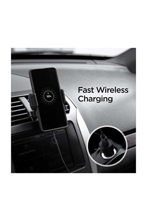 Spigen Hızlı Kablosuz Şarjlı Araç Tutucu (universal),  Kuel Qi 10w + 18w Hızlı Araç Şarjı X35w 2