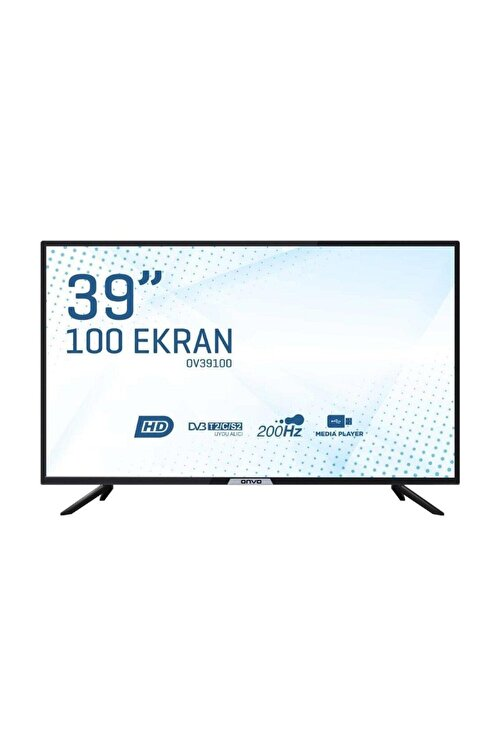 """ONVO OV39100 39"""" 99 Ekran Uydu Alıcılı HD Ready LED TV 1"""