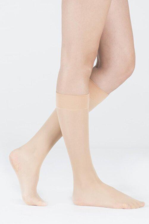 Katia&Bony Kadın Sahra Dizaltı Opak 30 Denye Basic Çorap 2