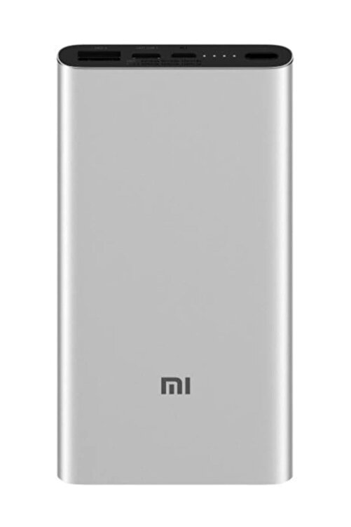 Xiaomi 10000 mAh QC 3.0 Hızlı Şarj 5. Nesil Powerbank Type-C 1