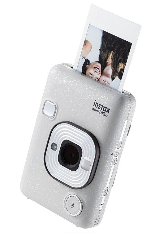 Fujifilm instax mini LiPlay Hybrid Stone White Fotoğraf Makinesi 1
