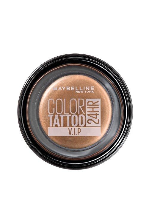 Maybelline New York Krem Göz Farı - Color Tattoo 24HR 180 V.I.P 3600531581497 1