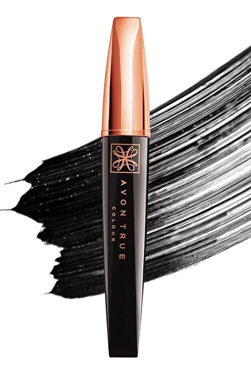 AVON Uzunluk Verici ve Besleyici Siyah Maskara - True Colour Mascara Black 7 ml 8681298934080 2