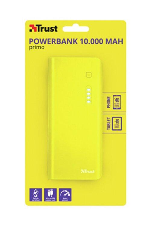 Trust 22753 Primo 10000 Mah Taşınabilir Şarj Cihazı Sarı 1