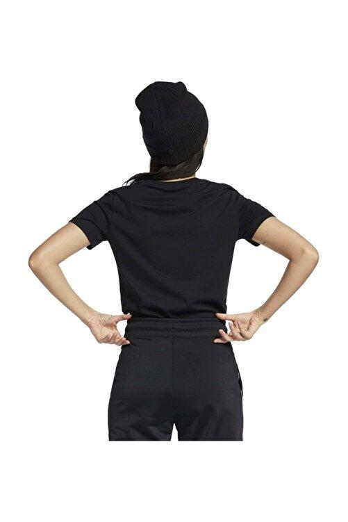 Nike W Nsw Tee Essntl Icon Futura Kadın T-shirt Siyah 2