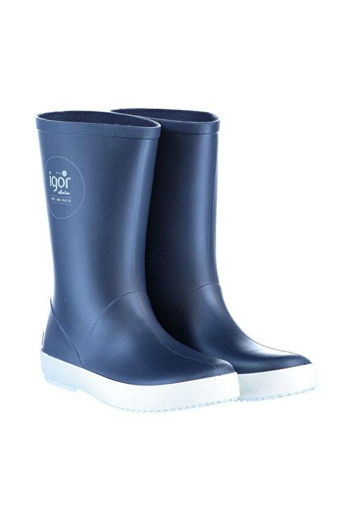 IGOR W10107 -O94 Lacivert Unisex Çocuk Yağmur Çizmesi 100317970 1