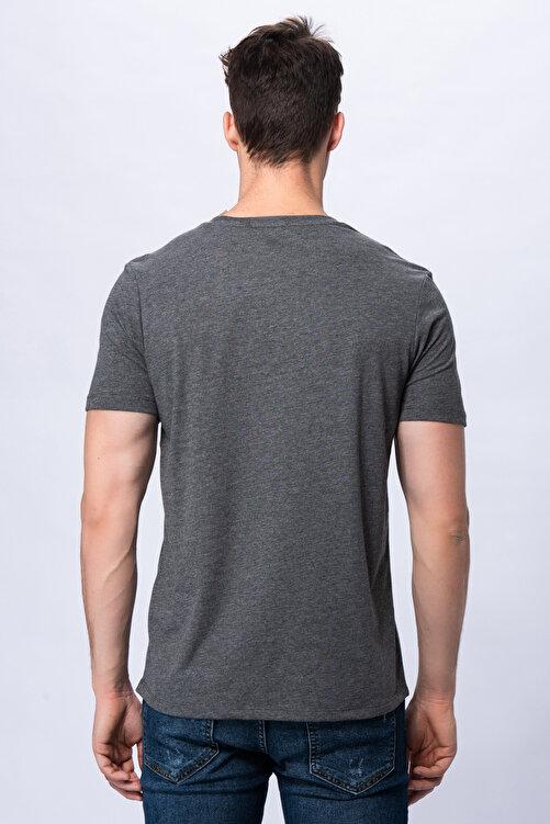 New Balance Erkek T-shirt - 3 Brush TEE - V-MTT903-CHC 2