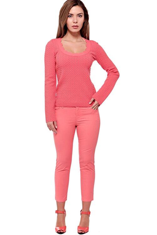 Armani Jeans Kadın Pembe Pantolon Ss1700002350 1