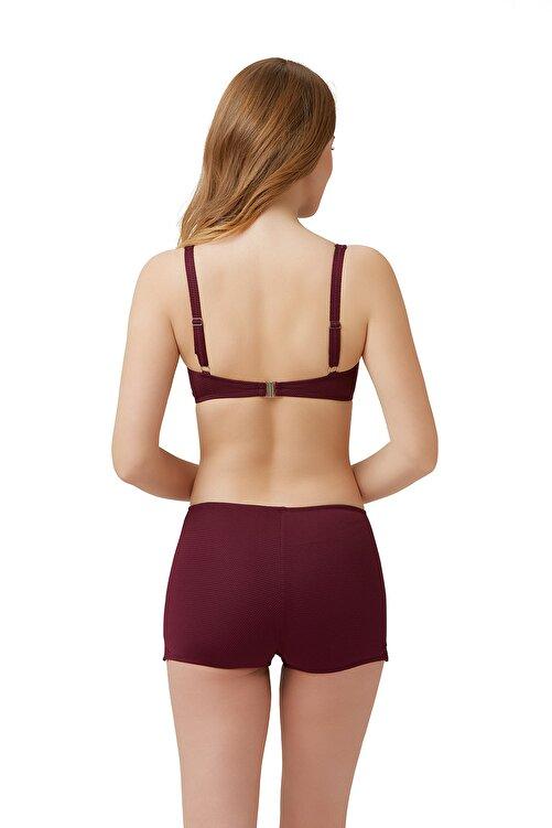 Kom Kadın Bordo Fabio Şortlu Bikini Wildberry 01MB85201 2