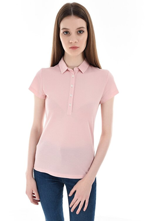 GIZA HOUSE Pembe Kadın T-Shirt 1