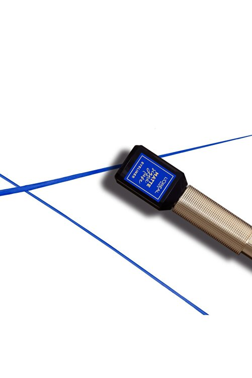 L'Oreal Paris Mat Eyeliner - Matte Signature Eyeliner 02 Blue 30175235 2
