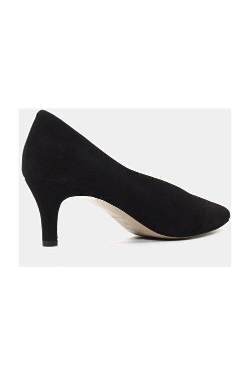 Hotiç Hakiki Deri Siyah Kadın Stiletto 2