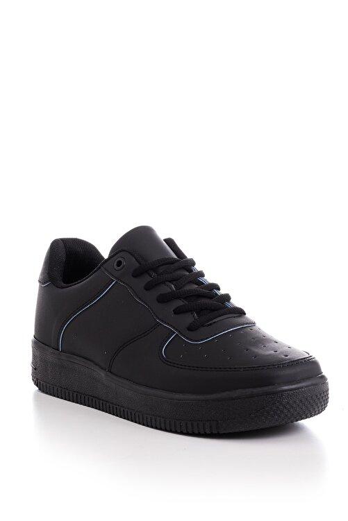 Tonny Black Siyah Mavi Unisex Sneaker V2005-0 1