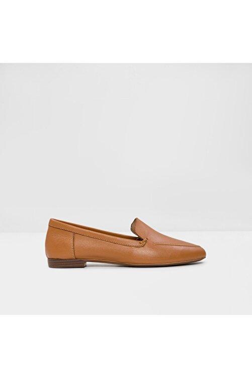 Aldo Kadın Taba Hakiki Deri Loafer Ayakkabı 2