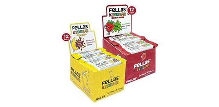 Yüksek Besleyici İçeriği ile Fellas Protein Barları