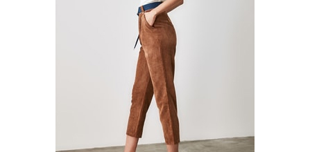 Her Bütçeye Uygun Desenli Kadife Pantolon Fiyatları