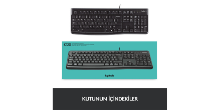 Logitech 920-002505 K120 Usb Kablolu Q Klavye Kullanışlı mı?