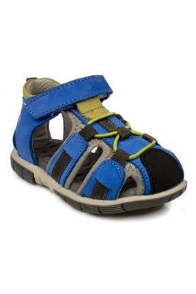 Toddler Tek Cırt Lacivert Çocuk Sandalet 7006b 0