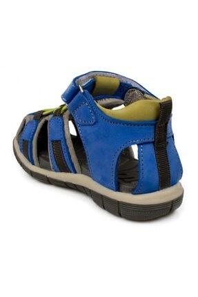 Toddler Tek Cırt Lacivert Çocuk Sandalet 7006b 3