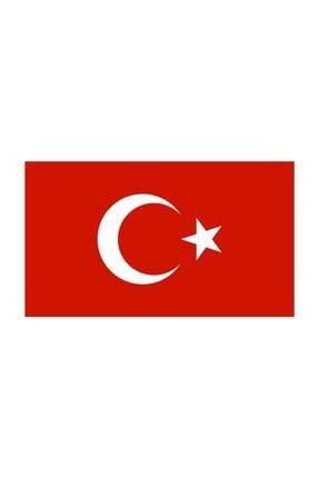 Sticker Fabrikası Türkiye Bayrağı Sticker 9x5,5 Cm 00068 0