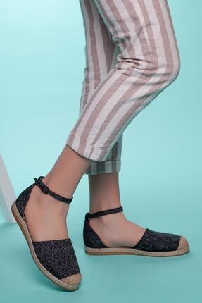 Muggo Kadın Espadril Ayakkabı Sbsw304 1