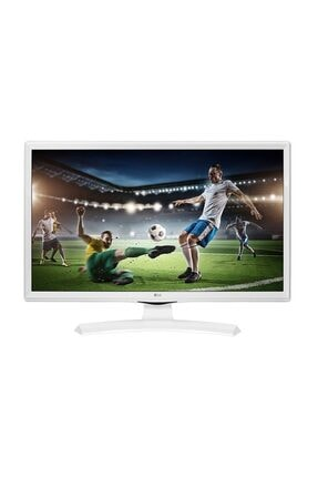 "LG 24TK410U-WZ 24"" 61 Ekran Uydu Alıcılı HD Ready LED Monitör TV 0"