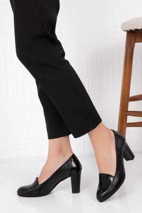 Potini Ayakkabı - Anatomik Potini Ayakkabı Hakiki Deri Kadın Topuklu Ayakkabı 1