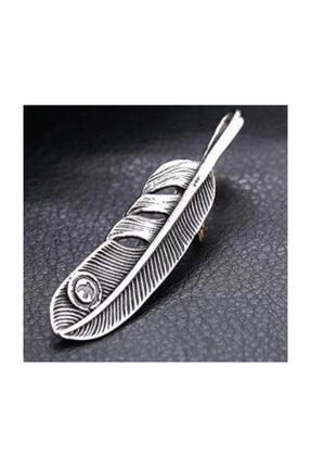 daisybydaisy Paslanmaz Çelik Kartal Pençesi Tüy Kolye 3