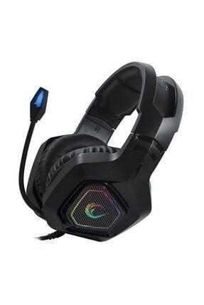 Rampage Rm-k8 Hawker Siyah Usb 7,1 Version Rgb Ledli Gaming Oyuncu Mikrofonlu Kulaklık 1