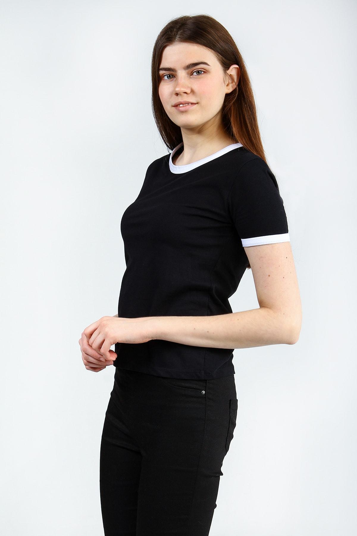 Collezione Kadın Siyah T-shirt - UCB142815A41 0