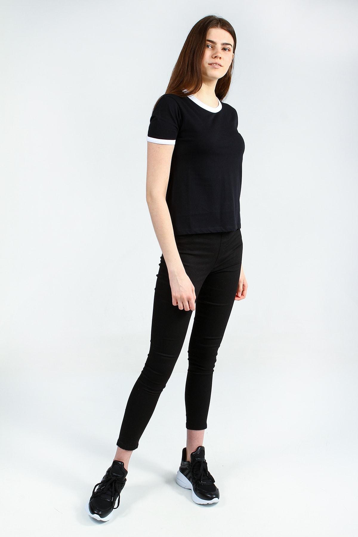 Collezione Kadın Siyah T-shirt - UCB142815A41 1