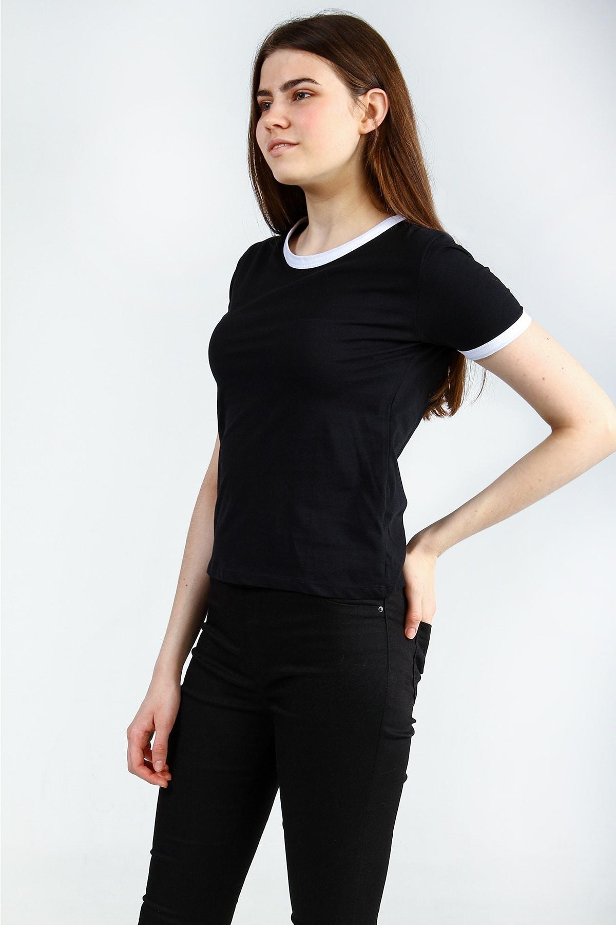 Collezione Kadın Siyah T-shirt - UCB142815A41 2