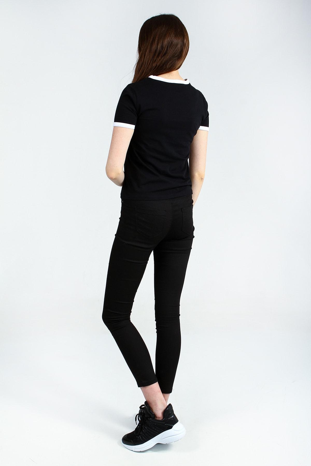 Collezione Kadın Siyah T-shirt - UCB142815A41 3