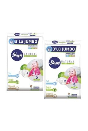Sleepy 3lü Jumbo 5 Junior (11-18kg) 2 Li Pk 72x2=144 Adet 0