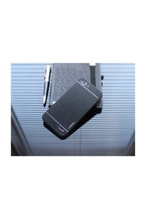 Motomo Vodafone Smart 6 Metal Siyah Rubber Kılıf 2