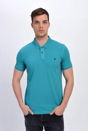 Dynamo Erkek Mint Polo Yaka Likralı T-shirt T621 1