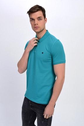 Dynamo Erkek Mint Polo Yaka Likralı T-shirt T621 2