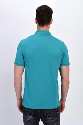 Dynamo Erkek Mint Polo Yaka Likralı T-shirt T621 3