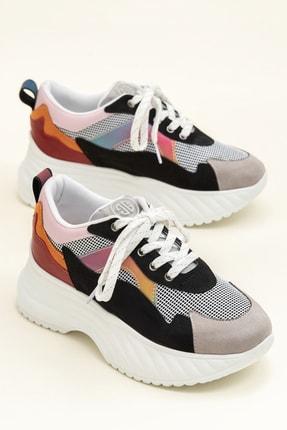 Elle DEVONA Siyah / Multı Kadın Sneaker 0