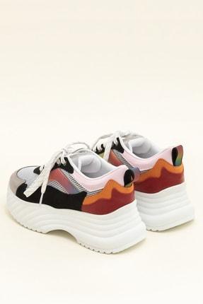 Elle DEVONA Siyah / Multı Kadın Sneaker 2