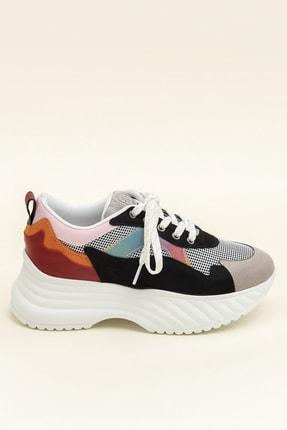 Elle DEVONA Siyah / Multı Kadın Sneaker 3
