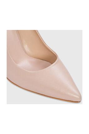 Aldo Kadın Naturel Hakiki Deri Klasik Topuklu Ayakkabı 111592 4