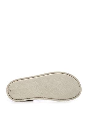 Kemal Tanca Hakiki Deri Siyah  Kadın Sandalet Sandalet 539 1309 BN SNDLT Y20 4