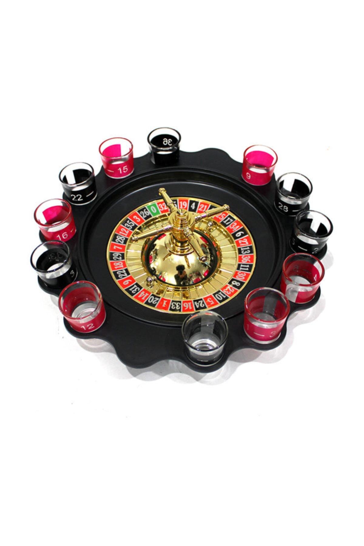 Rus Ruleti Drinking Roulette Shot Bardaklı Tekila Içki Oyun Seti