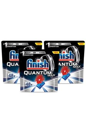 Finish Finish Quantum Max 144 Kapsül Bulaşık Makinesi Deterjanı (48x3) 1
